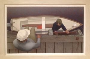 Embarkation: Alex Colville 1994